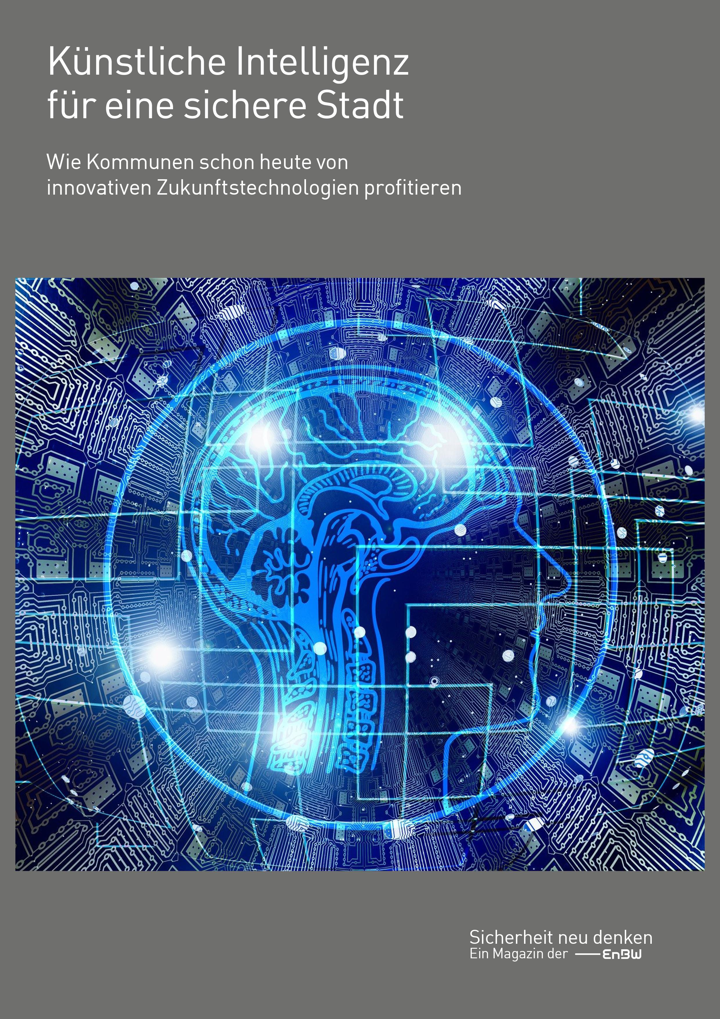 Whitepaper_Künstliche Intelligenz für eine sichere Stadt_Titelseite